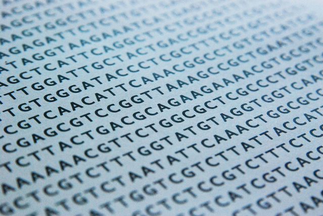 DNA sequence from Freeimages.com under the FreeImages.com content license.